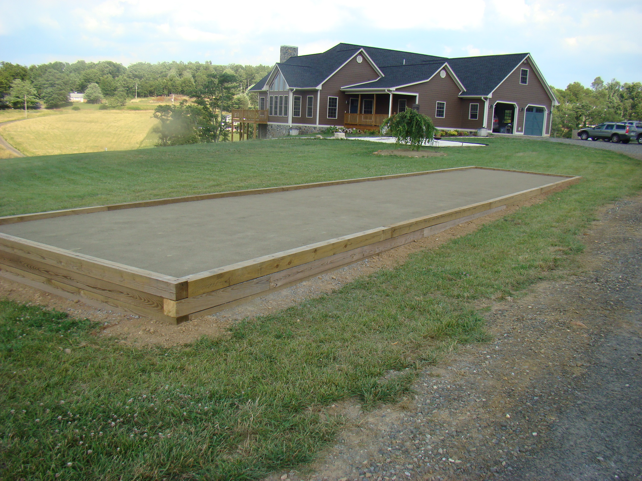 Bocce ball court | Ocampo Lawn Care & Landscaping